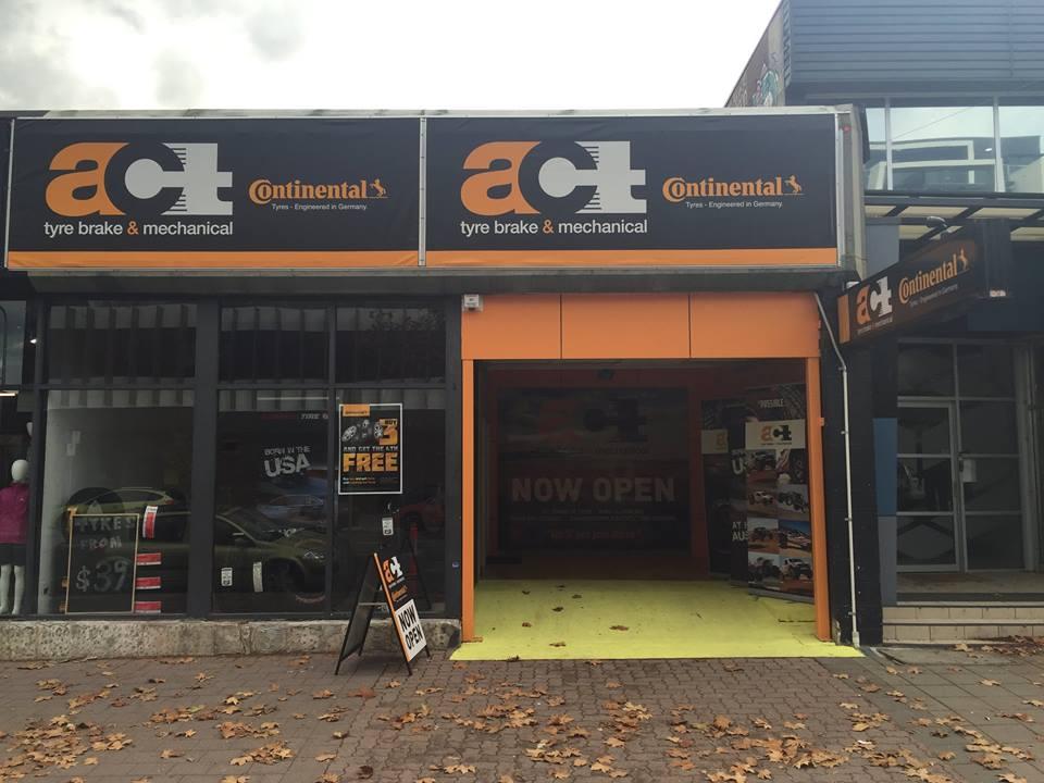 act tyre brake and mechanical braddon store